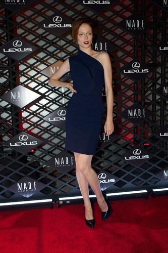 Supermodel Coco Rocha at Lexus Design Disrupted.  (PRNewsFoto/Lexus)