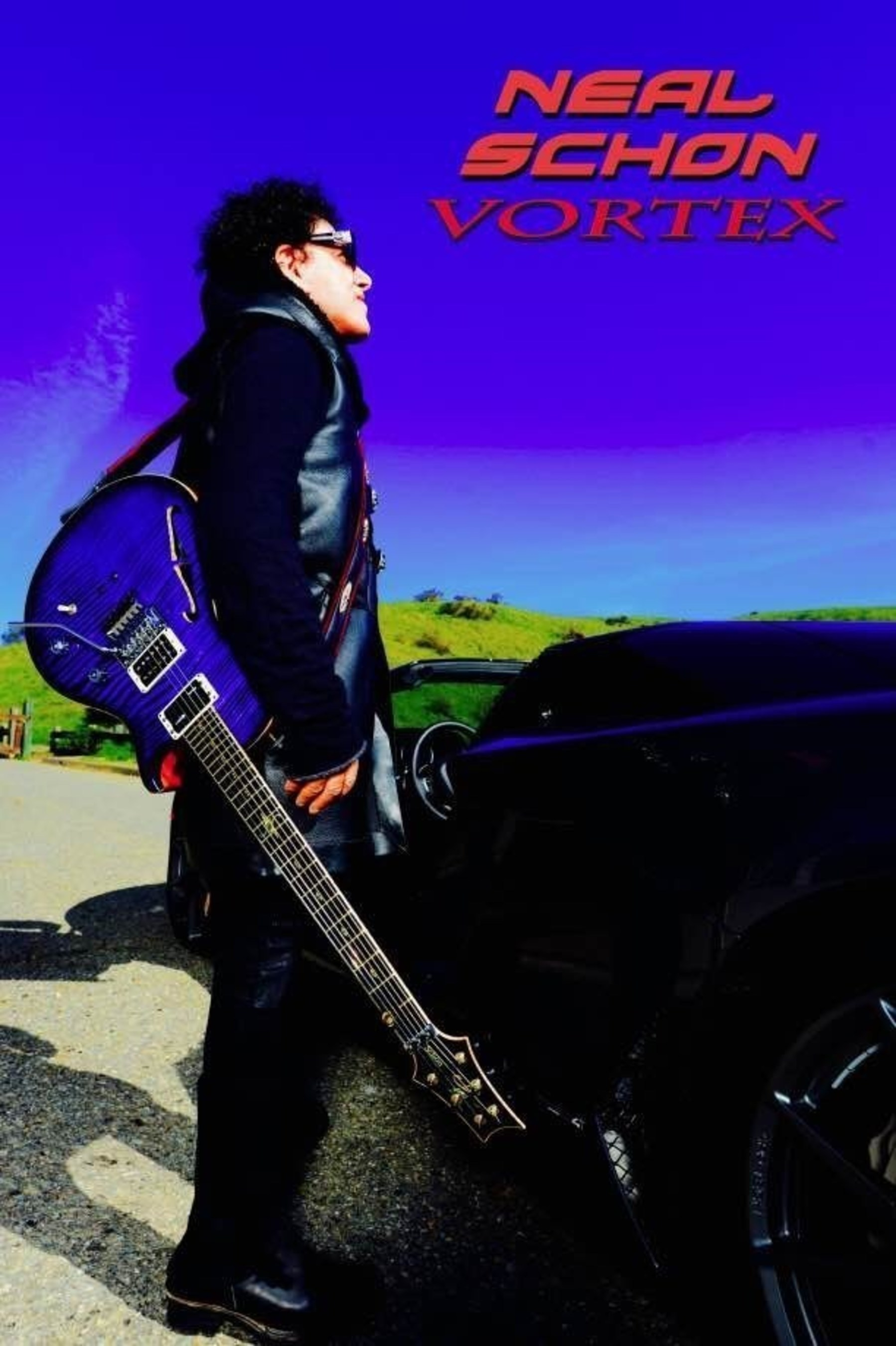 Neal Schon And Music Theories Recordings / MLG Announce The Release Of Vortex On June 23