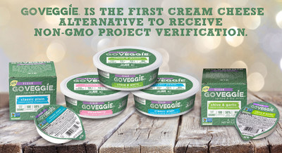 GO VEGGIE(R) Is The First Cream Cheese Alternative To Receive Non-GMO Project Verification.