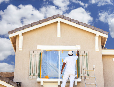 Paint in good weather to get a long-lasting paint job.