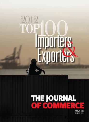 A return to spending by American consumers helped fuel 2011 increases in imports and exports, The Journal of Commerce reports in its annual Top 100 Importers and Exporters edition this week. The special double issue features exclusive rankings of the Top 100 importers and exporters of containerized goods for 2011 along with market segment analysis, valuable economic insight and expert commentary.  (PRNewsFoto/The Journal of Commerce)