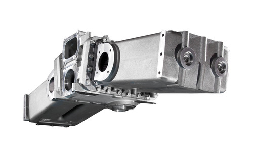BorgWarner is expanding applications and markets for its exhaust gas recirculation (EGR) coolers, helping to reduce emissions for 8V to 20V diesel engines (16 liters and 80 liters, respectively) beginning with Tognum MTU-brand diesel engines for locomotives, mining equipment, and pumps for the oil and gas industry.  (PRNewsFoto/BorgWarner Inc.)