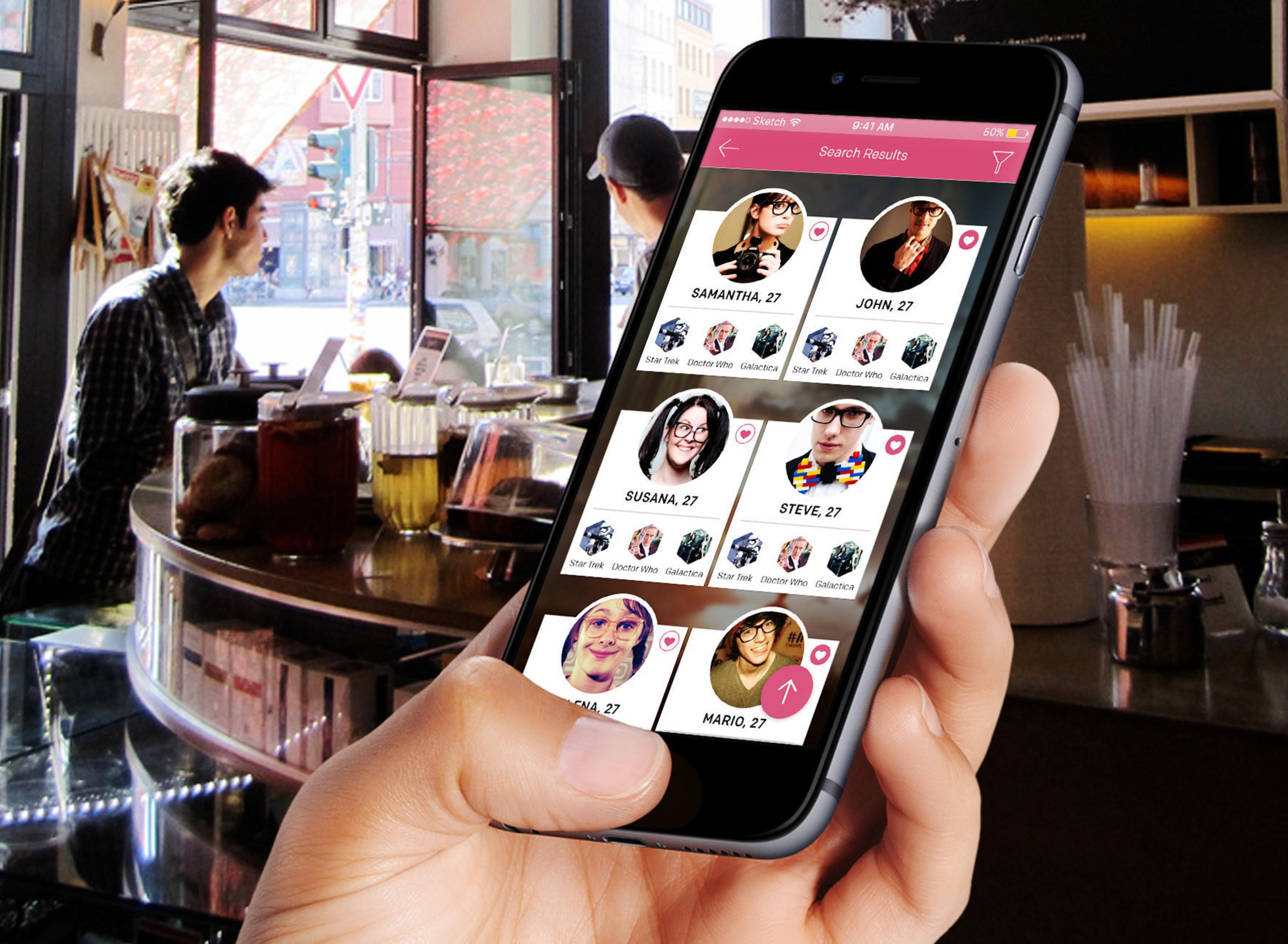 geek dating app