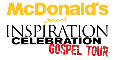 McDonald's Inspiration Celebration Gospel Tour (ICGT) is back and better than ever and features some of gospel music's biggest acts. Gospel music veteran Erica Campbell and comedian Jonathan Slocumb will co-host. Joining them will be Anthony Brown & Group TherAPy, the Mississippi Mass Choir, Uncle Reece, Moses Tyson, Jr. and Kurt Carr & The Kurt Carr Singers. Back for its eighth year, the free summer concert series sets out May 22 and runs through July 25 to deliver messages of hope and inspiration to communities nationwide and supports the Ronald McDonald House Charities (RMHC). (PRNewsFoto/McDonald's USA)