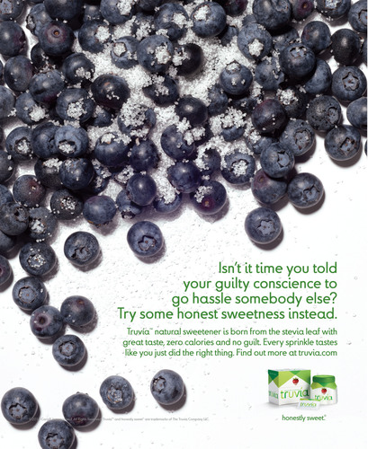 Truvia(TM) Natural Zero-Calorie Sweetener Launches New National Advertising Campaign