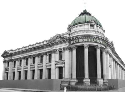 Hibernia Bank exterior.