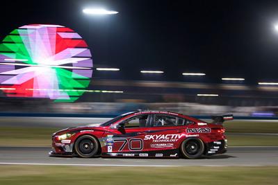 Mazda6 SKYACTIV-D race car at Daytona.  (PRNewsFoto/Mazda Motorsports)