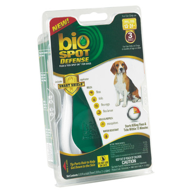 The makers of Bio Spot® provide heroic protection with the new Bio Spot® Smart Shield™ Applicator. The ground-breaking new applicator delivers spot on defense with a more convenient, secure and confident application experience.
