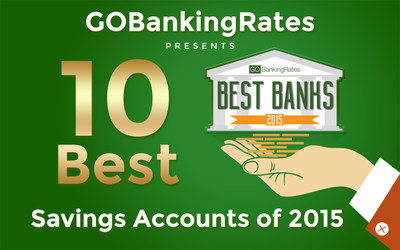 GOBankingRates' Study Reveals Top 10 Savings Accounts for 2015