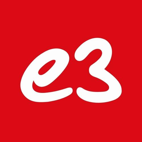 e3 logo (PRNewsFoto/e3) (PRNewsFoto/e3)