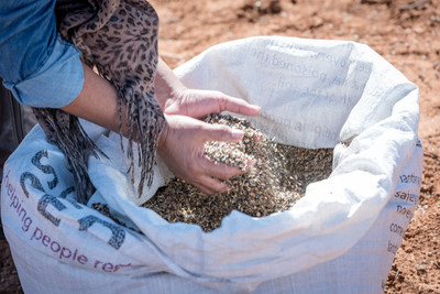 The wildflower seed mix used at each planting consists of native species optimized for the area's pollinators.