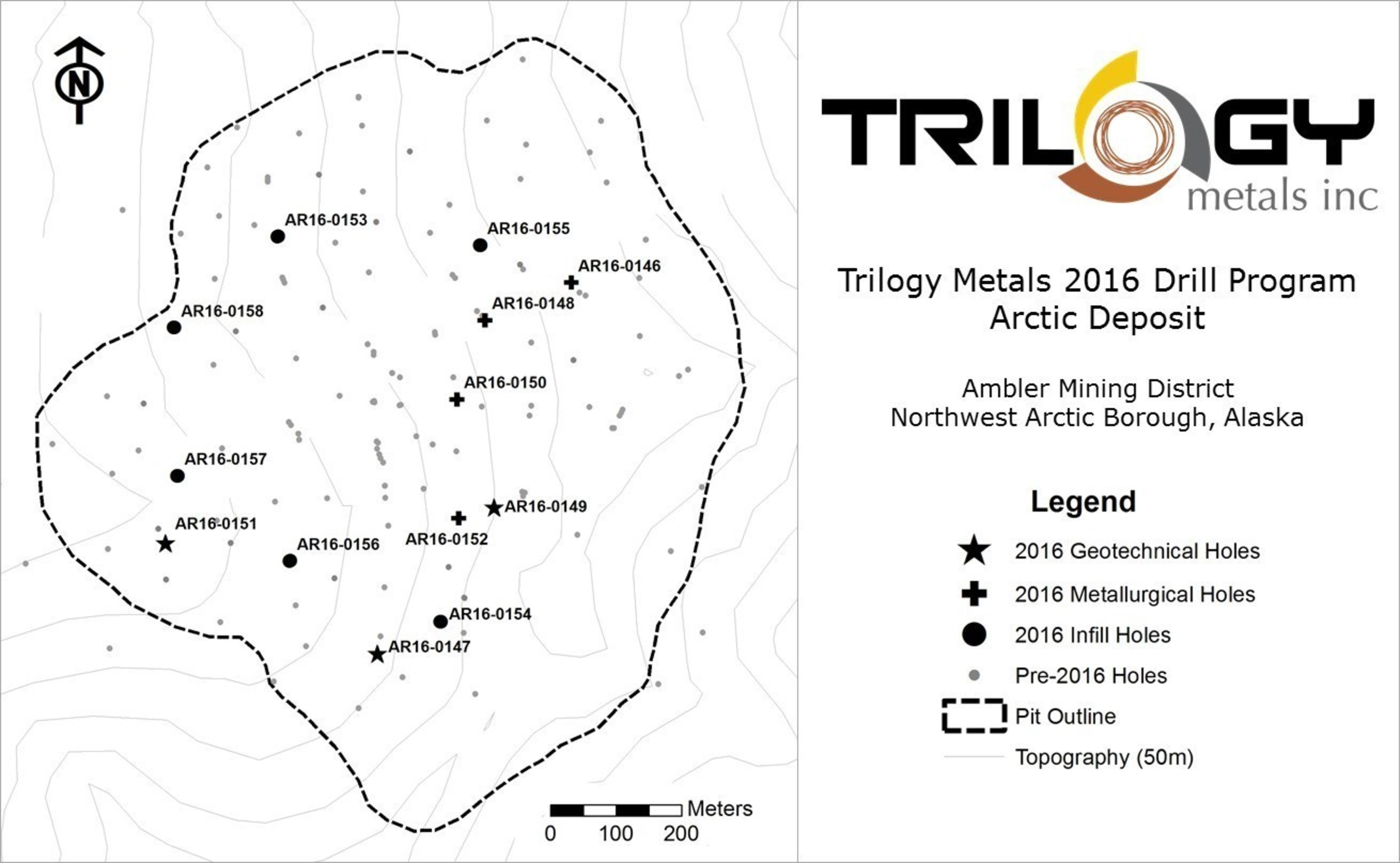 Trilogy Metals Reports High Grade Copper and Zinc from Drilling at on