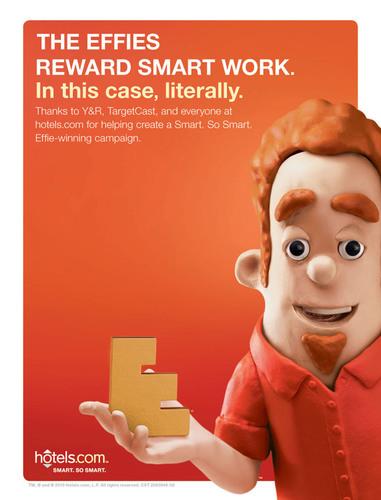 Hotels.com Receives Bronze EFFIE Award for SMART Campaign