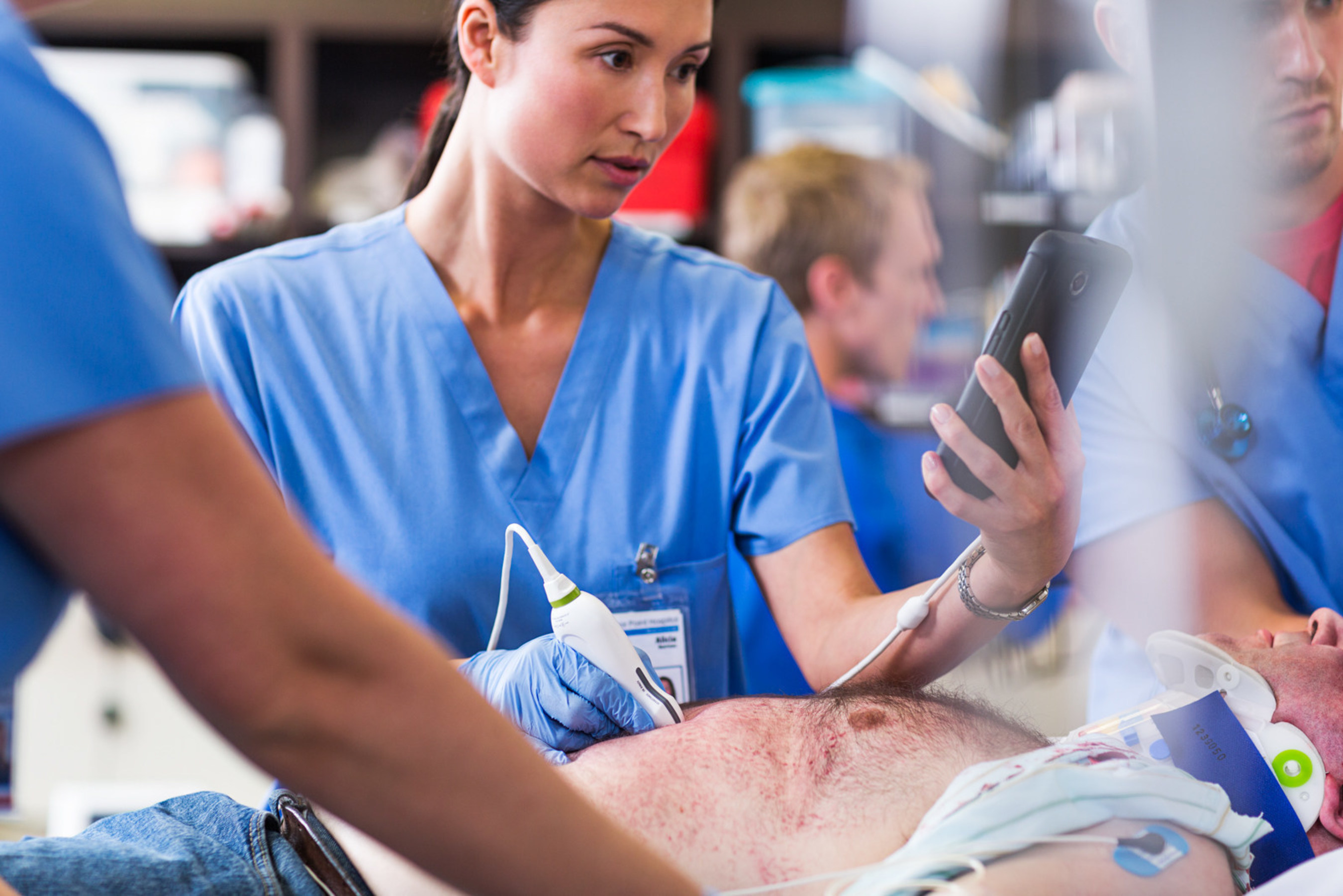 As a customized app-based solution, Lumify offers healthcare professionals connectivity, flexibility and mobility.