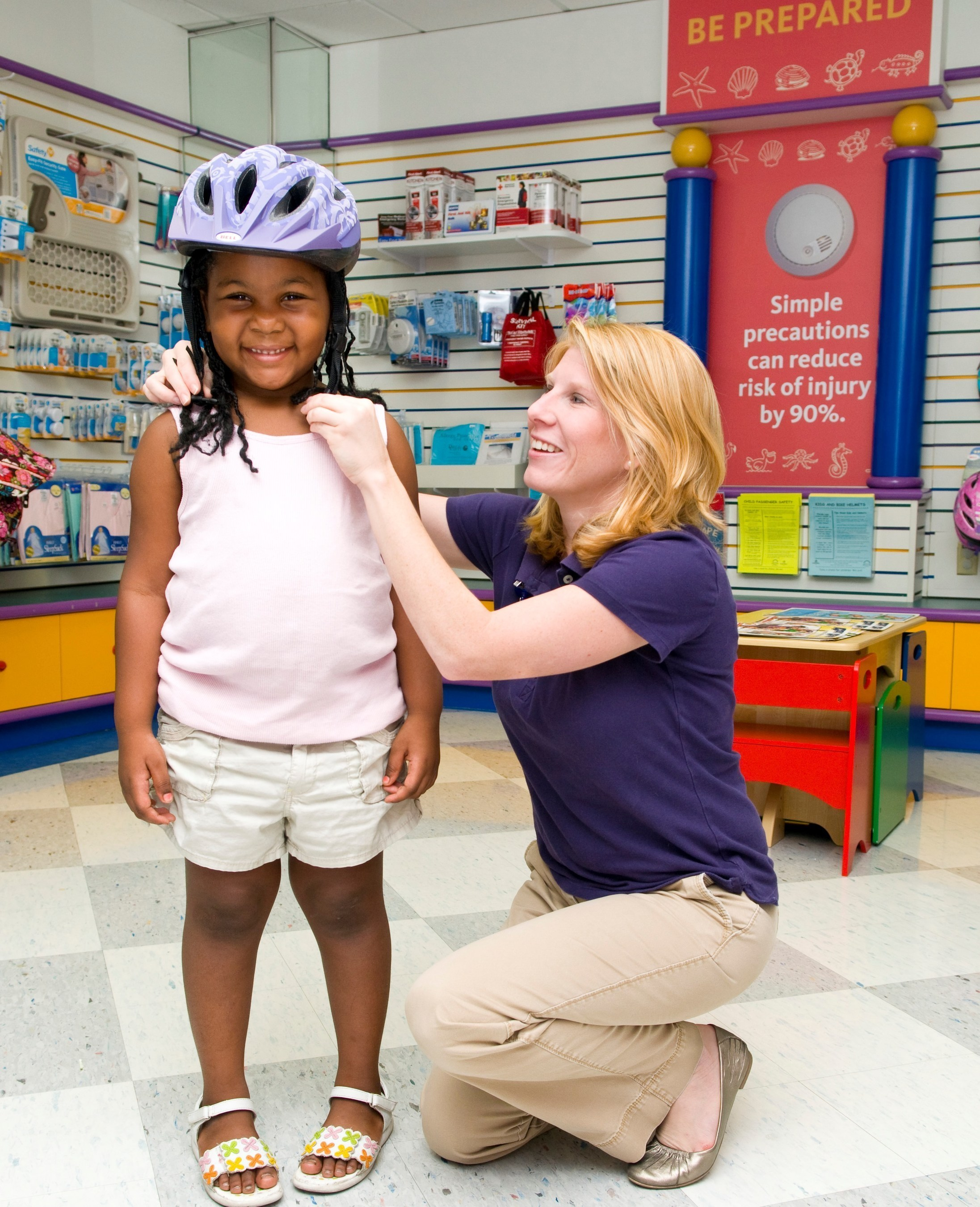 St. Joseph's Children's Hospital encourages parents and other holiday gift-givers to include a helmet ...