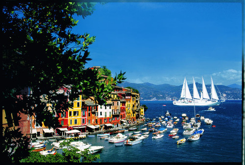 Explore Portofino, Italy on one of Windstar's many European voyages.  (PRNewsFoto/Windstar Cruises)