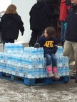 With people struggling to find clean water in Flint, Mich., AFGE and Michigan union members and their families joined together to provide it.