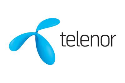 Telenor Logo. (PRNewsFoto/UUX) (PRNewsFoto/UUX)