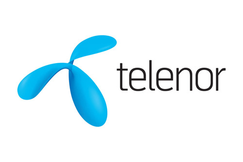 Telenor Logo.  (PRNewsFoto/UUX)