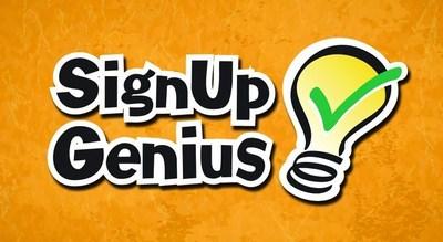 SignUpGenius logo (PRNewsFoto/SignUpGenius)