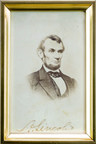 J. Levine Auction & Appraisal's Summer Catalog Auction on Thurs., July 30 features this signed 19th century carte-de-viste photograph of Abraham Lincoln, fine art, antiques and more. Bidders can register online now or bid on July 30 in person at the Scottsdale, Arizona auction house, online or via phone. www.jlevines.com