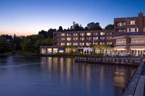 The Woodmark Hotel has been voted as one of the world's best hotels in both Travel and Leisure Magazine for  ...