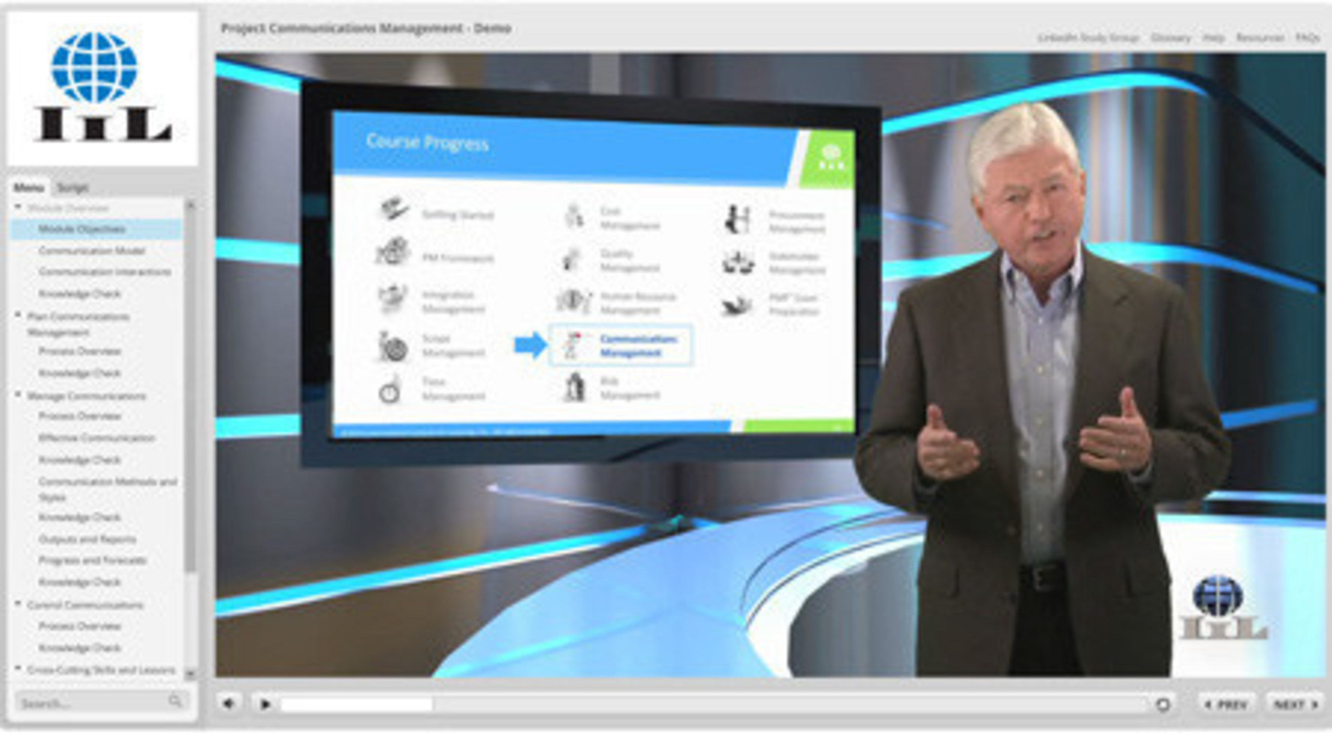 International Institute For Learning Unveils Interactive Hd Video
