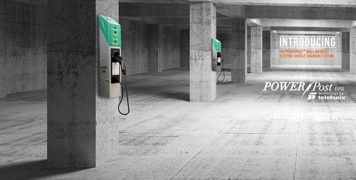 PowerPost® EVSE Introduces New Wall-Mounted Electric Vehicle Charging Stations Today at the