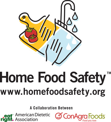 Reduce your risk of foodborne illness, visit www.HomeFoodSafety.org.  (PRNewsFoto/American Dietetic Association)