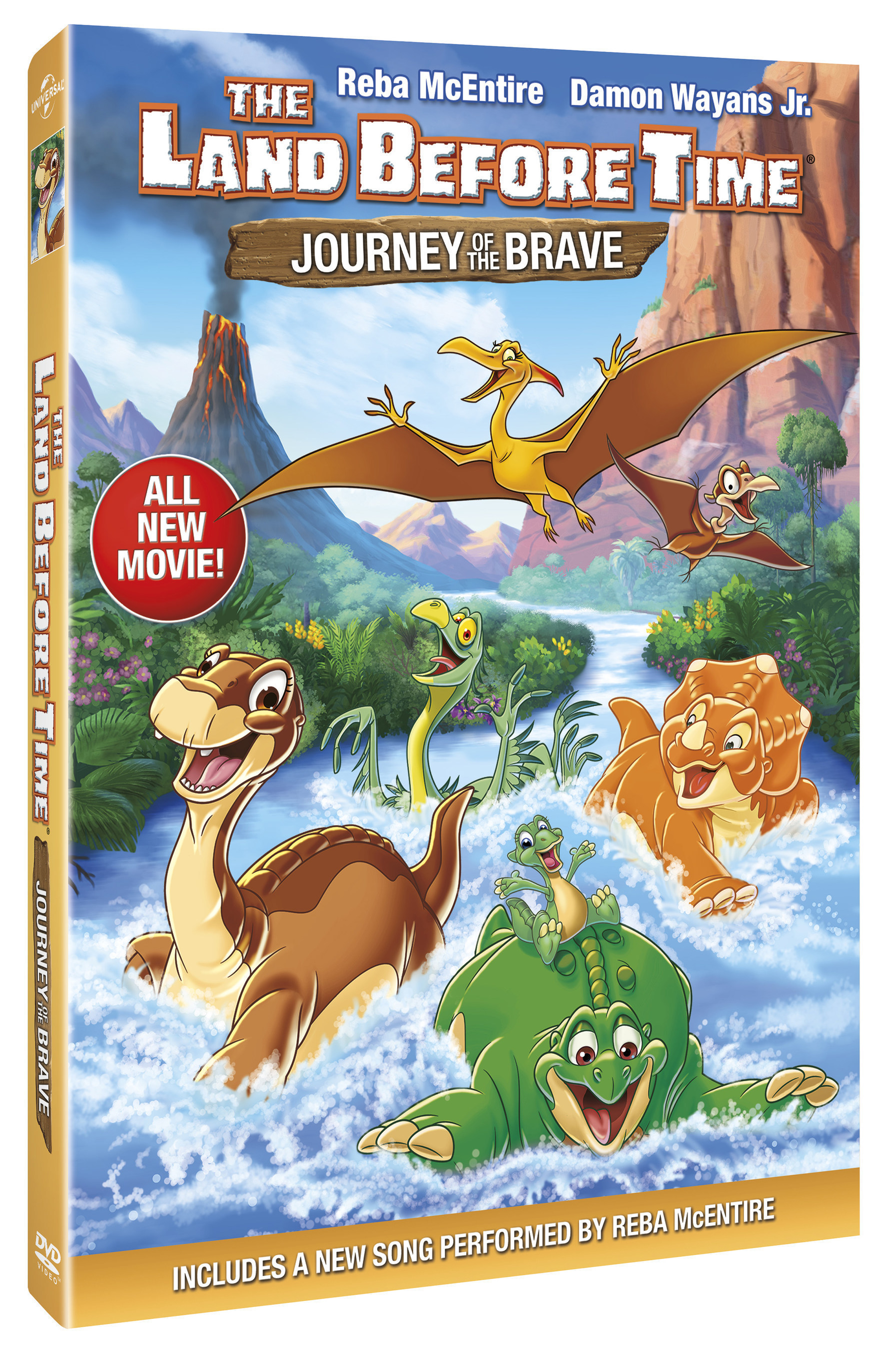 From Universal Pictures Home Entertainment: The Land Before Time: Journey of the Brave