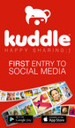 Introducing Kuddle, a new picture-sharing app especially designed for kids. Kuddle aims to create a fun and safer digital environment for children, while enhancing their knowledge about responsible digital sharing by combining elements of education and entertainment. Available for download today on iOS and Android. Happy sharing! (PRNewsFoto/Kuddle)