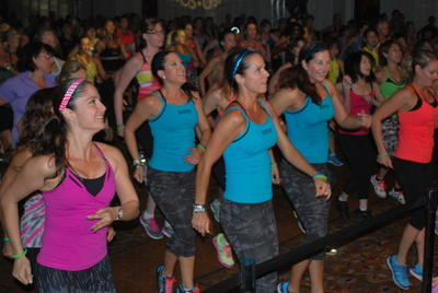 More than 1,600 expected for Jazzercise international fitness getaway in Washington, D.C. June 27-28 (PRNewsFoto/Jazzercise, Inc.)