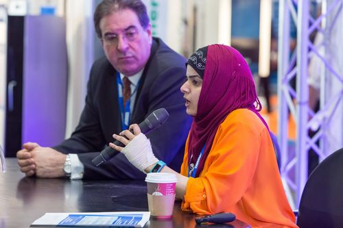 Representatives from the Dept. Of Energy & Climate Change present at the Energy & Environment Expo 2014 (PRNewsFoto/UBM Live)