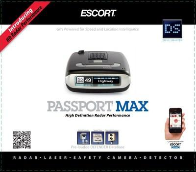 PASSPORT Max(TM) (PRNewsFoto/ESCORT, Inc.)