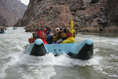 Hualapai River Runners, the only one-day Grand Canyon whitewater rafting adventure.