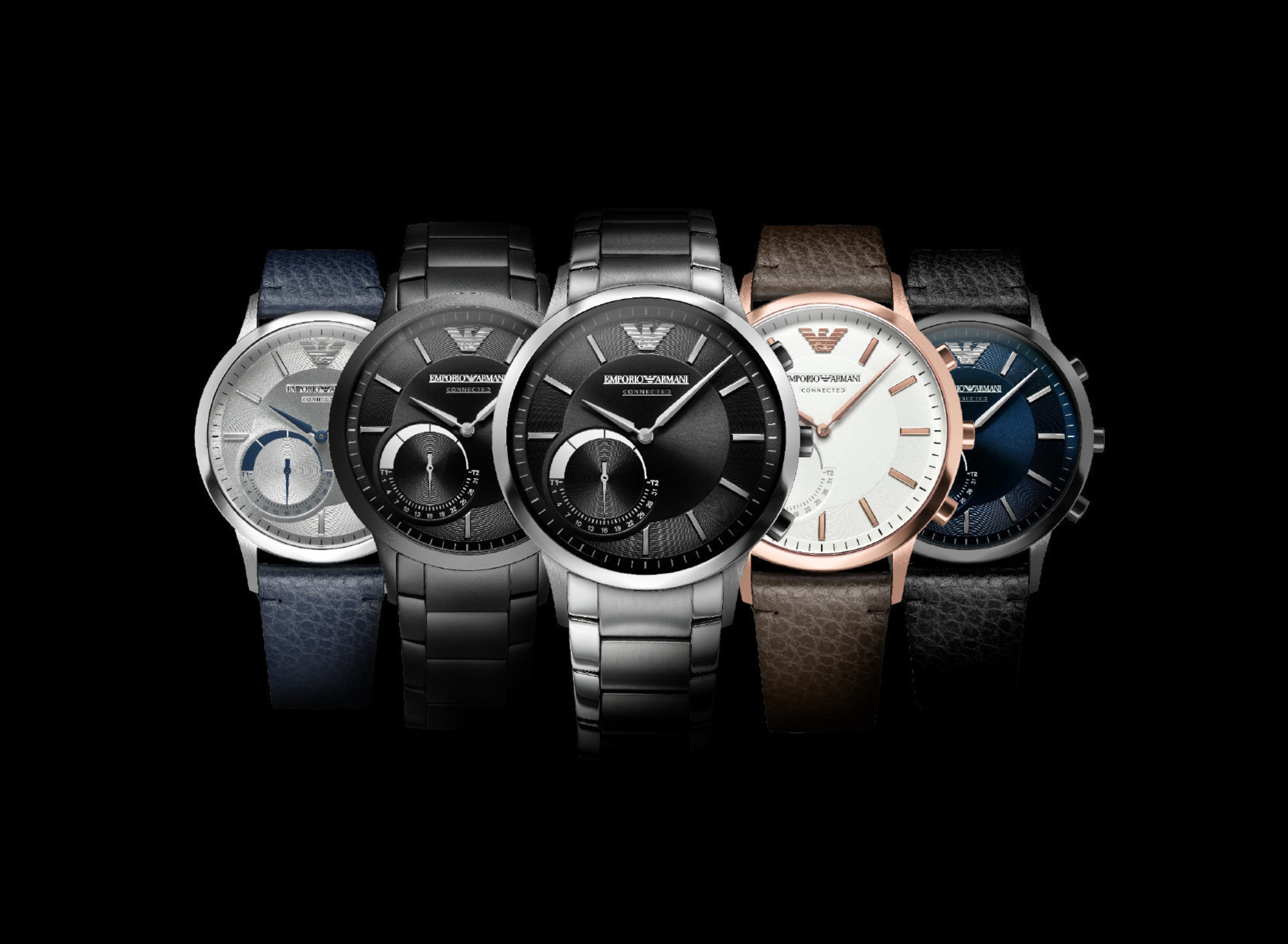 The Emporio Armani Connected Hybrid Smartwatch Collection