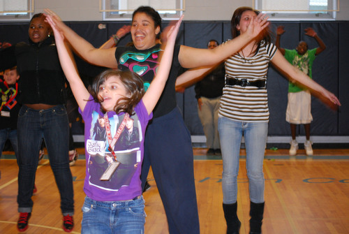 Boys & Girls Club of Manchester takes on the Guinness World Record for Jumping Jacks