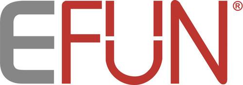 E FUN logo