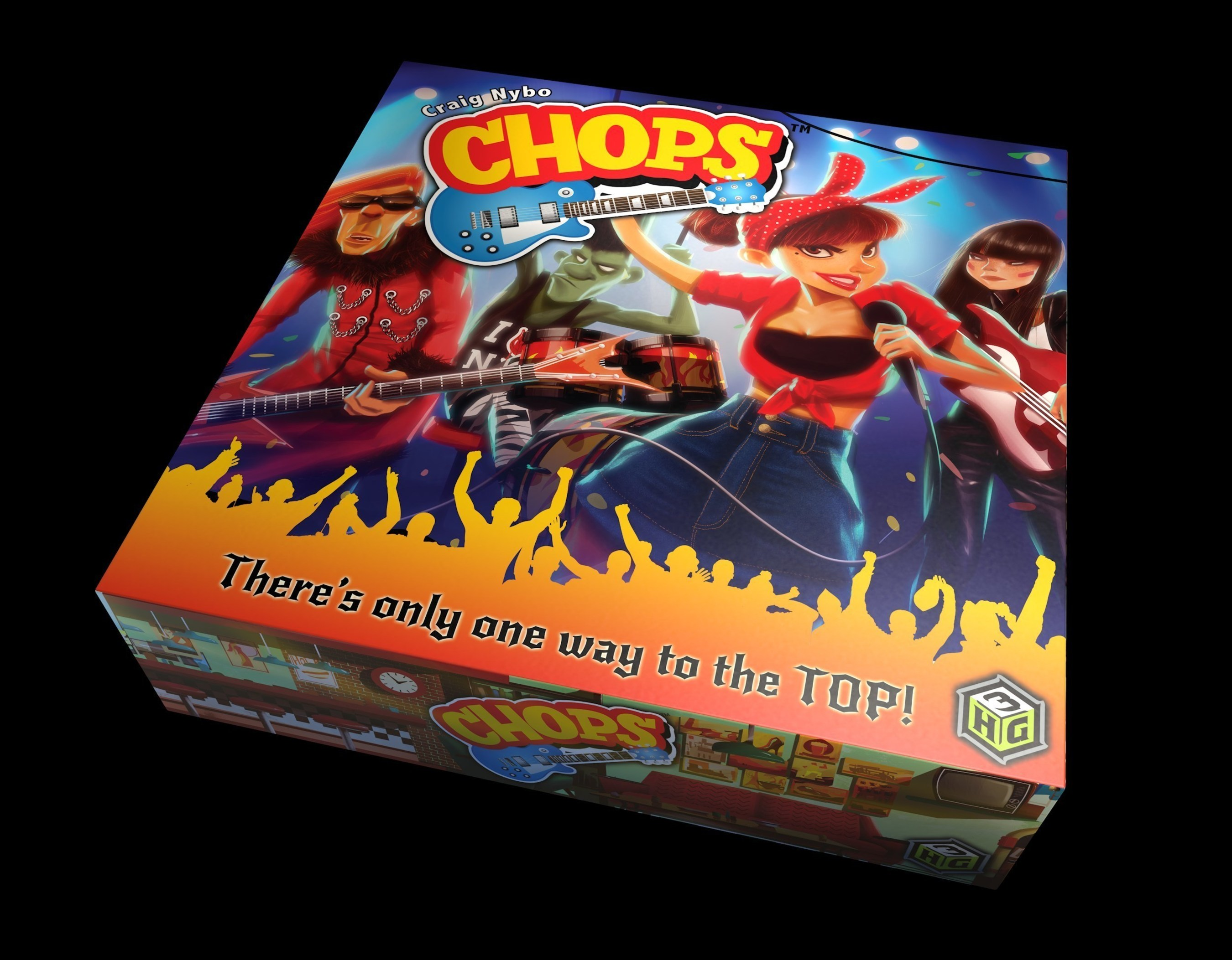 New Rock and Roll Board Game Turns the Volume to 11