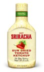 Traina Foods Debuts New Sriracha Sun Dried Tomato Ketchup. The perfect blend of heat and sweet. Perfect as a condiment, better as an ingredient.  Sriracha Sun Dried Tomato Ketchup and Traina's Classic Sun Dried Tomato Ketchup are available online and at select retailers: www.trainafoods.com California Grown. California Made. (PRNewsFoto/Traina Foods)