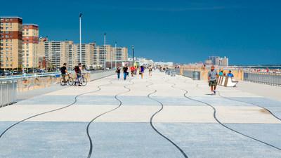 CH2M-designed Rockaway Boardwalk reconstruction was key for the sustained economic development of the Rockaway peninsula.