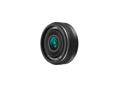 New Micro Four Thirds Digital Interchangeable Single Focal Length Lens LUMIX G 14mm / F2.5 II ASPH. (H-H014A) (PRNewsFoto/Panasonic)