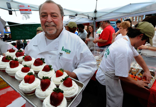 The Italian Market Festival in South Philadelphia, taking place May 18-19, 2013. Photo by R. Kennedy for GPTMC.  ...