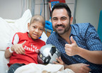 Help St. Jude patients like Anderson live. Visit Promesayesperanza.org