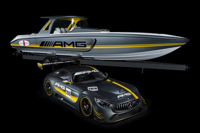"Mercedes-AMG GT3 inspires most powerful ""Open Performance"" boat ever produced by the Cigarette Racing Team"