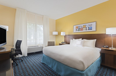 Fairfield Inn & Suites by Marriott is unveiling its smart, inventive guest room design, and its bright and inviting decor, at the Fairfield Inn & Suites Tampa Brandon in Tampa, FL.