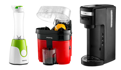 Start your morning off right with one of three countertop appliances from Gourmia for under $50.