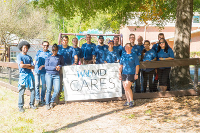 WebMD Cares Impact Day 2016 - Durham employees worked with the Durham Parks Foundation.