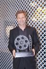 Aaron Eckhart honored at the 14th annual Savannah Film Festival.  (PRNewsFoto/SCAD, Savannah Film Festival)