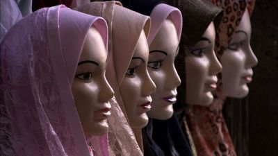 Mannequins with hijabs on. (PRNewsFoto/Pyramedia)